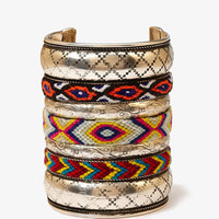 Woven Southwestern Cuff