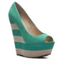 Zigi Soho Pizzazz Wedge Pump Peep Toes Pumps &amp; Heels Women&#x27;s Shoes - DSW