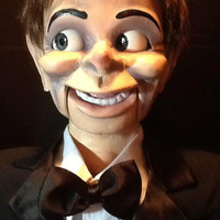 Ventriloquist Figure Dummy One of a Kind Vent Puppet full size 42""