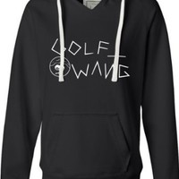 Amazon.com: Womens Golf Wang Wolf Gang Tyler the Creator Odd Future OFWGKTA Novelty Deluxe Soft Fashion Hooded Sweatshirt Hoodie: Clothing