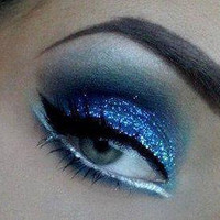 Star Spangled Blue Glitter by CALLACosmetics on Etsy