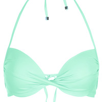 Aqua Plunge Bikini Top - Topshop
