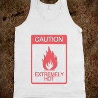 Caution Extremely Hot Warning Sign - Awesome fun #$!!*&