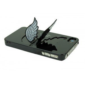 Designer iPhone 4/4s Cases and Covers - Angel Wing Holder