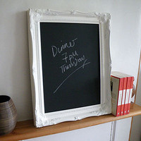 decorative frame chalkboard by letterfest | notonthehighstreet.com