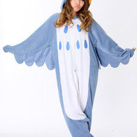 Adult Japan Kigurumi Pajamas Animal Cosplay Costume Onesuit pajamas sleepsuit Owl