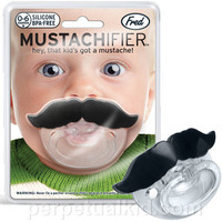 $9.99 Mustachifier Pacifier - Perpetual Kid