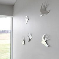 Tweet Wall Decor Set - Wall