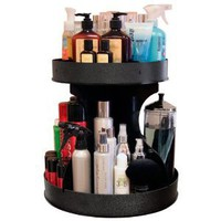 "Professional Stylists and ""Divas"" Will Love 15"" Spinning Cosmetic Organizer"