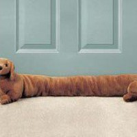 Dachshund Door Draft Stopper - Harriet Carter - Household Helpers &gt; Household Gadgets