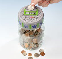 Counting Money Jar - Harriet Carter - Household Helpers > Home Office