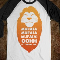 Mufasa Mufasa Mufasa! (baseball tee) - New Nostalgia