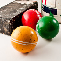 Vintage Croquet Balls Instant Collection
