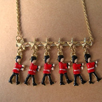 Necklace Charm Marching Guards by Bitsofbling on Etsy