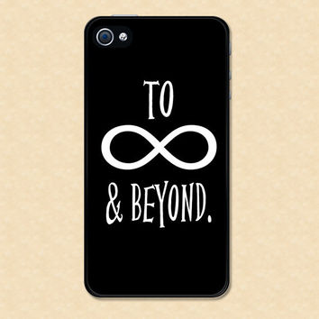 Iphone case To Infinity and Beyond Iphone 4 case cool awesome Iphone 4s case &
