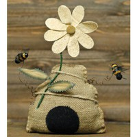 Burlap Beehive