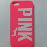 Victoria`s Secret Pink Iphone 5 Case Soft Case Pink: Cell Phones & Accessories