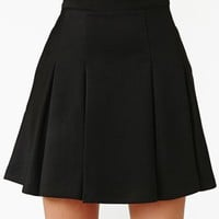 On The Outs Skirt - Black