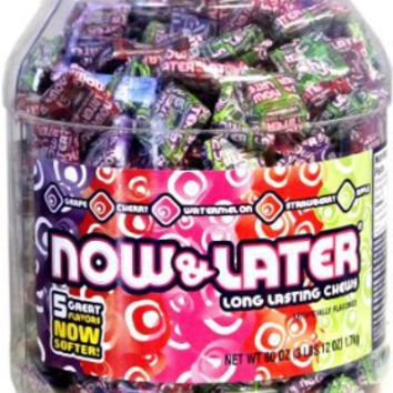 Now & Later Classic Candy Tub: Amazon.com: Grocery & Gourmet Food