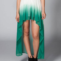 FULL TILT Ombre Hi Low Skirt