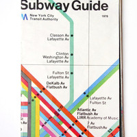 Massimo Vignelli&#x27;s New York City Subway Map  Wary Meyers