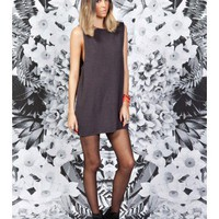 FINDERS KEEPERS Delayed Devotion Dress STEEL