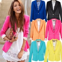 HOT SELLER Boyfriend Blazer Assorted Neon