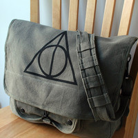 Harry Potter Deathly Hallows Messenger Bag