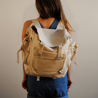 vintage backpack