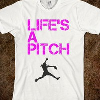 Life&#x27;s A Pitch Shirt - Caroline F&#x27;s Boutique