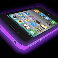 Amazon.com: NEW iPhone 5 Glow In The Dark Silicone Protective Case (Purple): Clothing