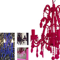 Johnny Egg - Lighting - Flocked Chandelier