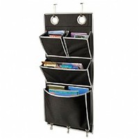 Metro Storage Organizer Over the Door - College dorm organization supplies product dorm room supplies cheap dorm stuff cool dorm stuff
