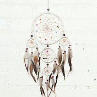 Free People Vintage Handmade Dream Catcher