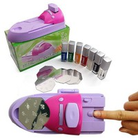DIY printing nail art stamper kit printer machine