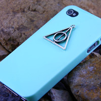 Harry Potter Dealthy Hallow iphone 4S Case ,Phone Cover for 4S