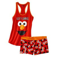 Target : Sesame Street Junior&#x27;s Tank &amp; Short Sleep Set - Elmo