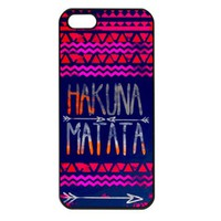 Hakuna Matata Iphone 5 case cover