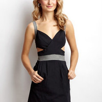 ideeli | T.L.H. Cutout Side Dress