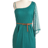 Teal Summer&#x27;s End Dress | Mod Retro Vintage Dresses | ModCloth.com