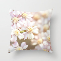 Pale Bloom  Throw Pillow by Bree Madden  | Society6