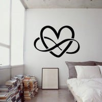 Modern , Urban and Contemporary - Infinite Love - Wall Decals , Home WallArt Decals