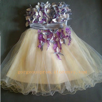Sweetheart Strapless Mini Prom Dresses