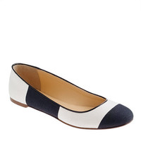 Nora stripe ballet flats - ballet flats - Women&#x27;s shoes - J.Crew