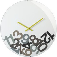 "dropped numbers 23"" clock"