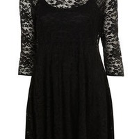 Peterpan Swing Lace Dress