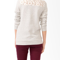 Banded Lace Panel Top