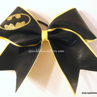 Batty Medium Youth Cheer Bow Hair Bow Cheerleading