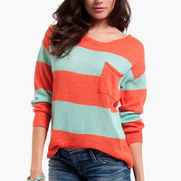Jenga Striped Sweater $34