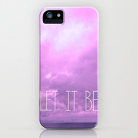 Let it be! iPhone Case by Louise Machado